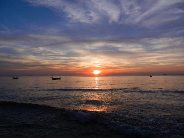 Sonnenuntergang bei dem man die Zeit vergisst. Foto: Ginger Kern